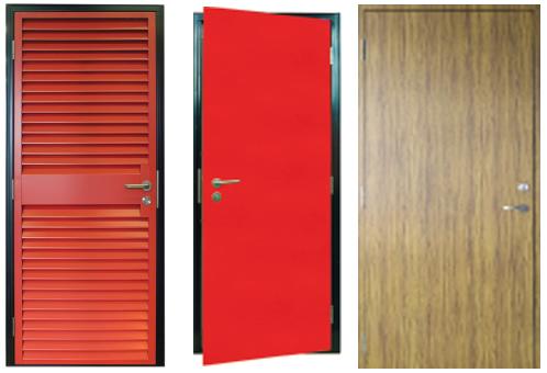 three personnel doors